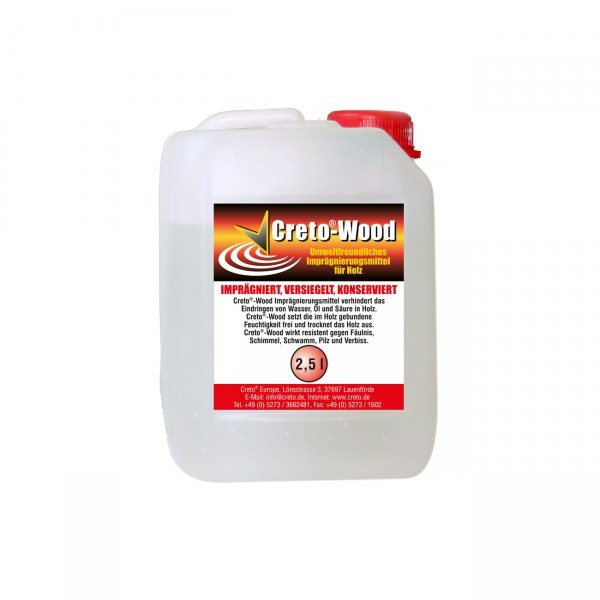 Creto® Holz-Konservierungsmittel 2,5l