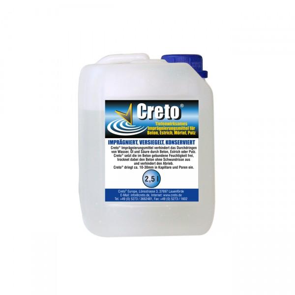 Creto® Betondichtungsmittel 2,5 l