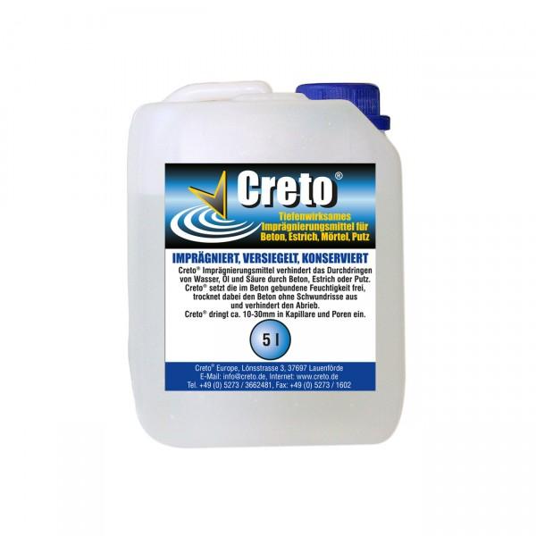 Creto® Betonversiegelung Estrich Versiegelung